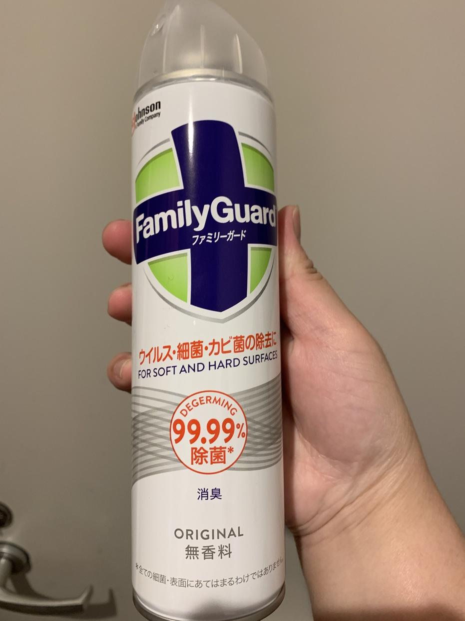family Guard(ファミリーガード) 除菌スプレーを使った中村さきさんのクチコミ画像1