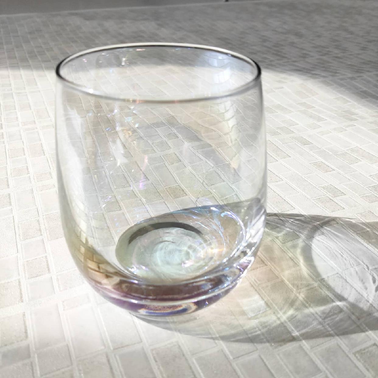 3COINS(スリーコインズ) オーロラグラスを使ったttyさんのクチコミ画像3