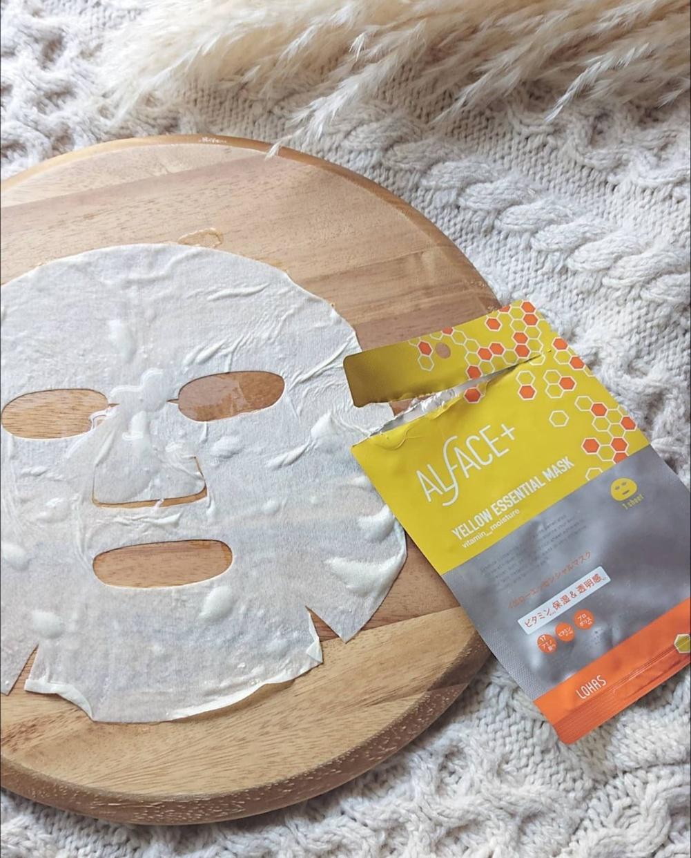 ALFACE+(オルフェス) イエローエッセンシャルマスクを使ったFU-RINさんのクチコミ画像1
