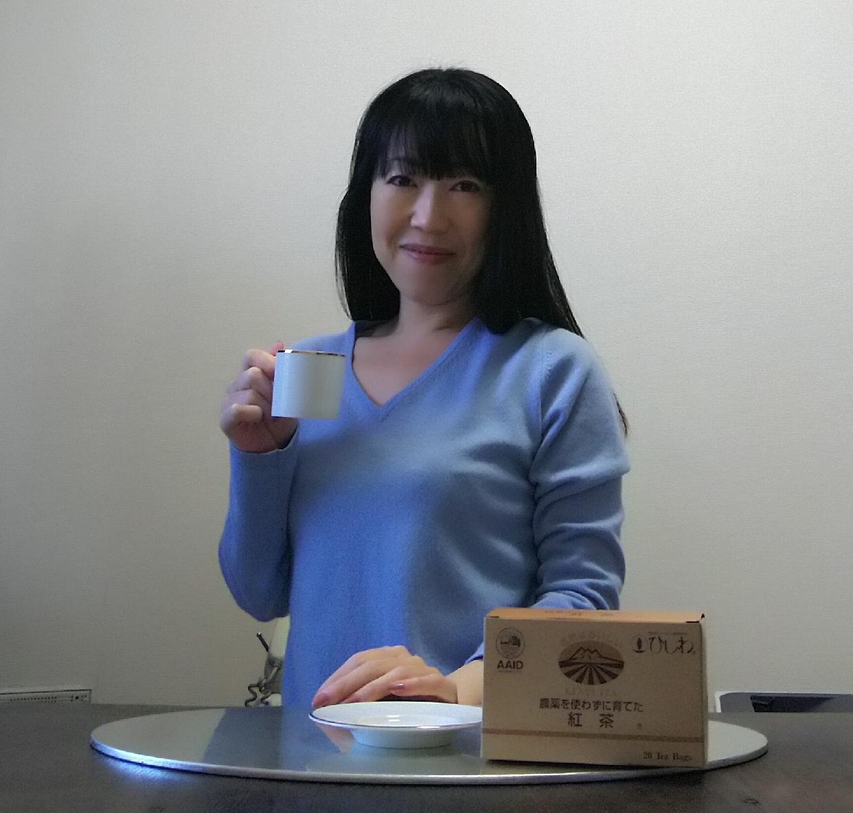 菱和園 農薬を使わずに育てた紅茶 ティーバッグを使った東 洋美さんのクチコミ画像