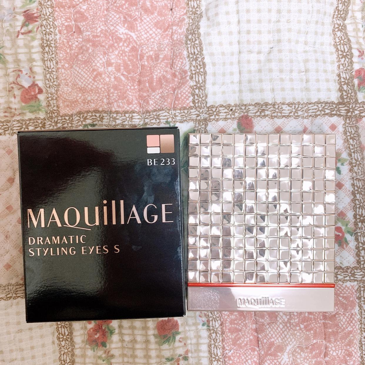 MAQuillAGE(マキアージュ) ドラマティックスタイリングアイズSを使ったまりたそさんのクチコミ画像2