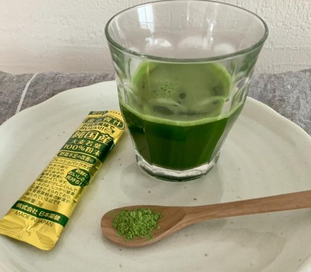 日本薬健 金の青汁 純国産大麦若葉100%粉末を使ったTomokoさんのクチコミ画像