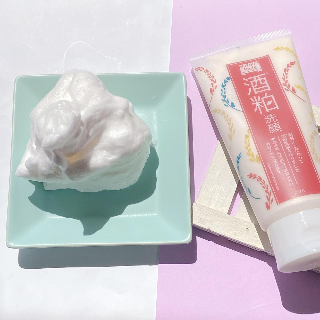 Wafood Made(ワフードメイド) SK洗顔 (酒粕洗顔)に関するエミリーさんの口コミ画像2