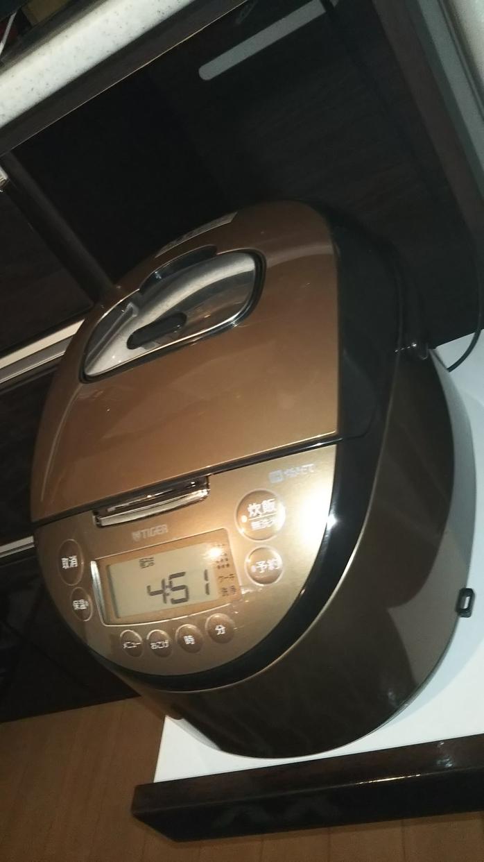 タイガー魔法瓶(TIGER) IHジャー炊飯器〈炊きたて〉 JKT-M180を使ったはむたさんのクチコミ画像1
