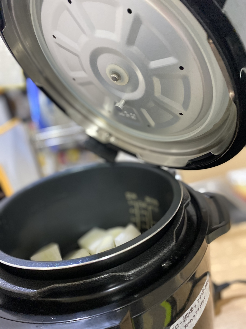 Cooking Pro(クッキングプロ)レシピ+延長保証セット シルバーを使ったいぬのしっぽさんのクチコミ画像2