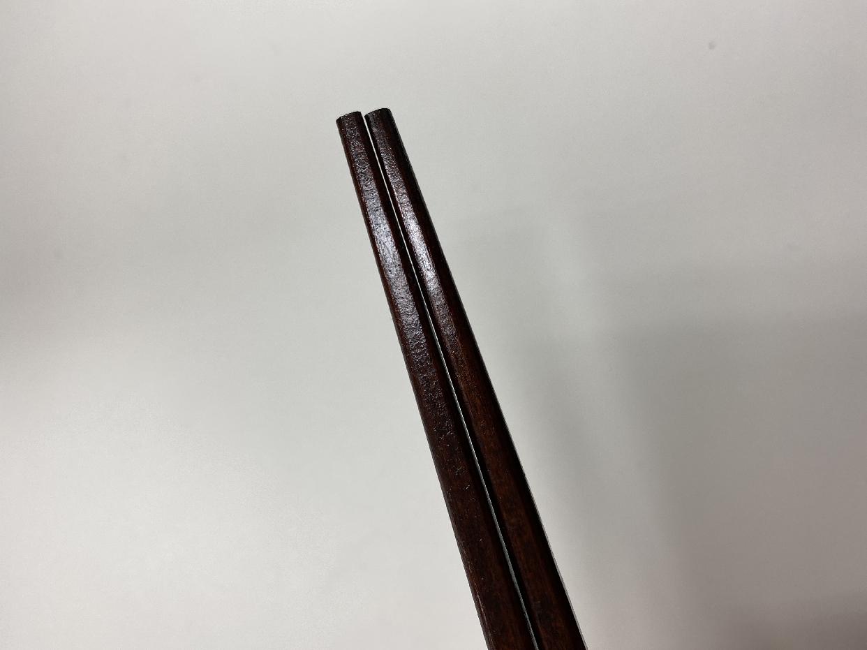 はりま屋(ハリマヤ)木曽ひのき箸 5膳セット 22.0cmを使ったあんよさんのクチコミ画像1