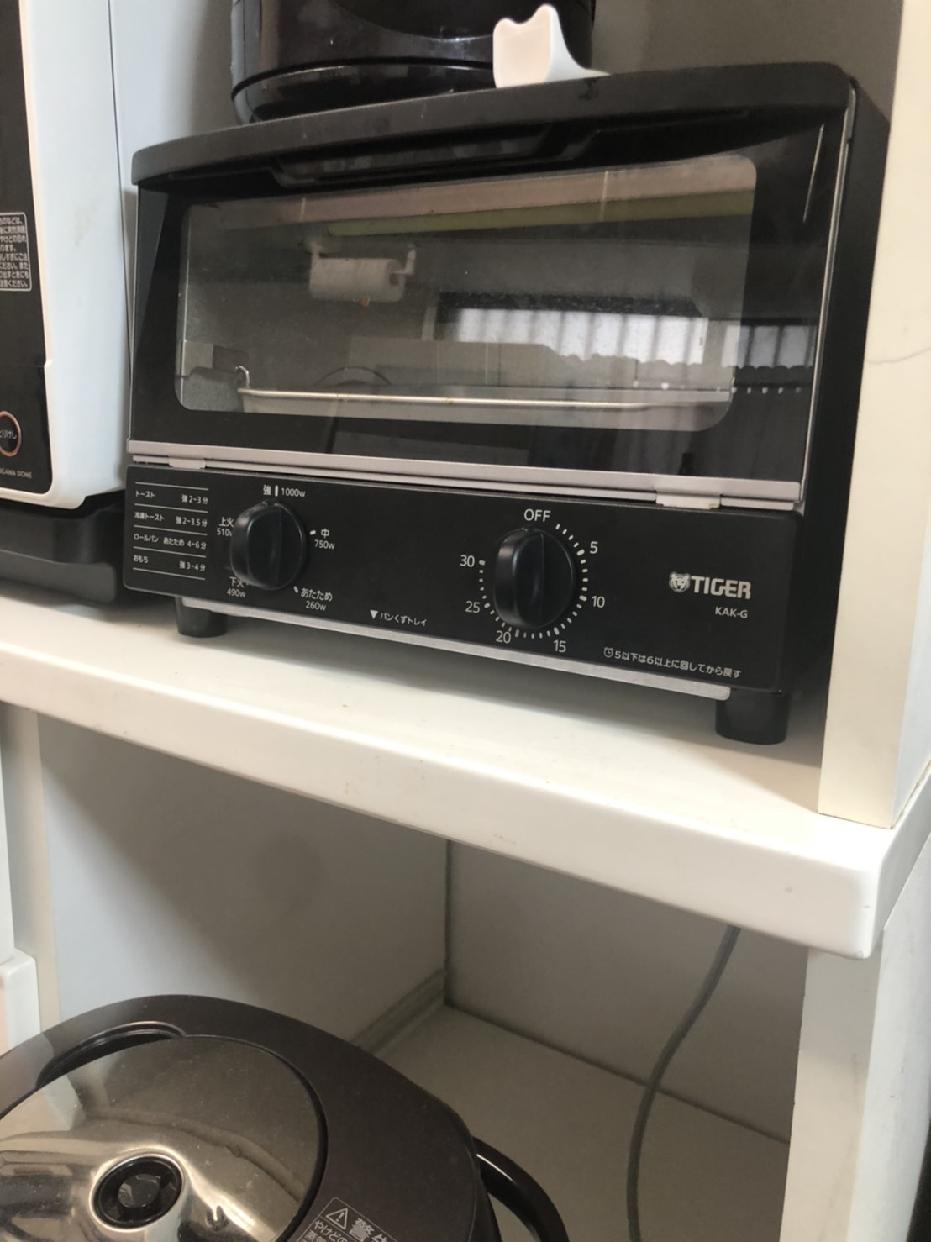 TIGER(タイガー)オーブントースター <やきたて> KAK-G100Kを使った けんさんの口コミ画像1
