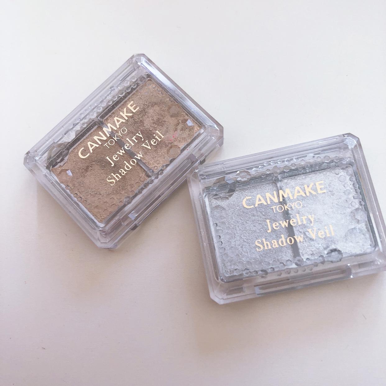 CANMAKE(キャンメイク)ジュエリーシャドウベールを使った田中 里依さんのクチコミ画像