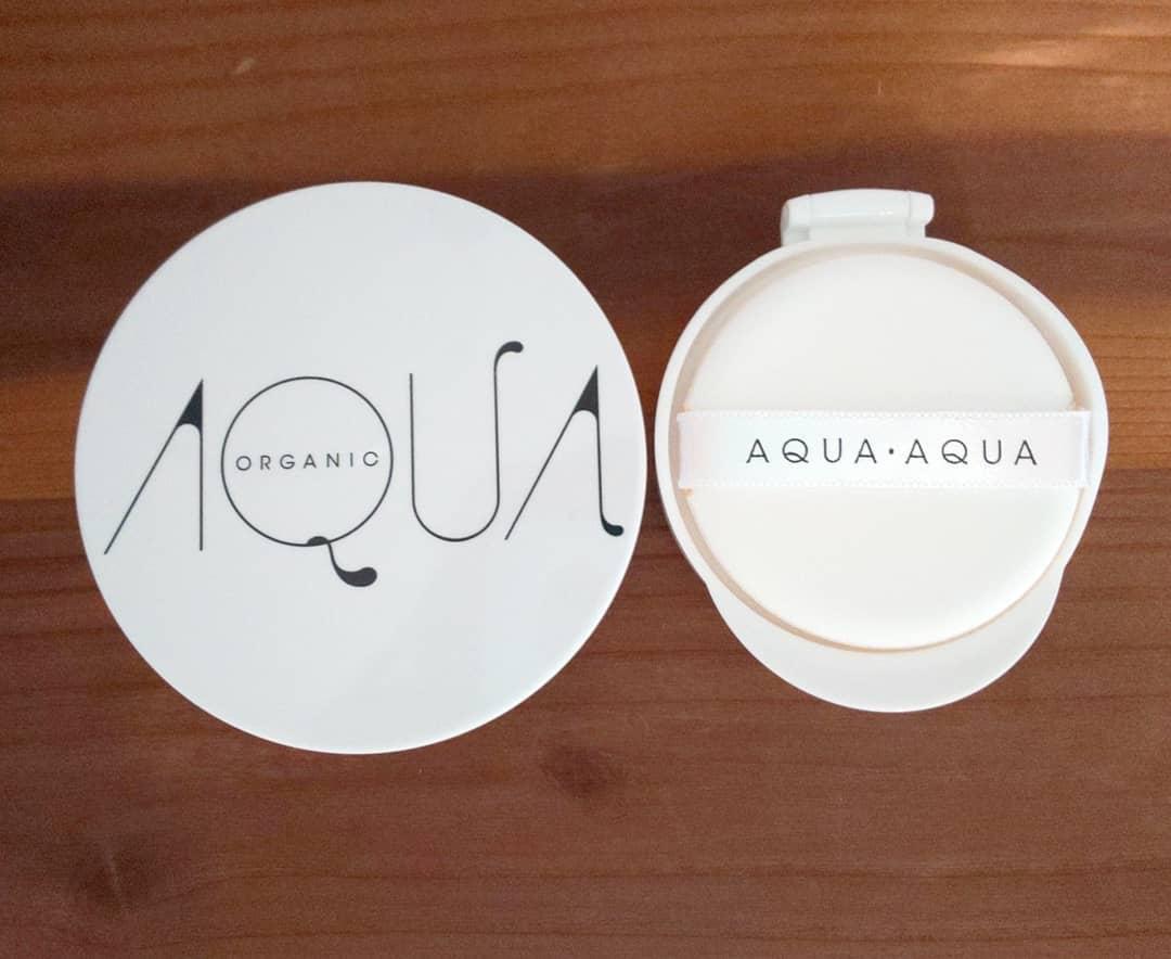AQUA・AQUA(アクア・アクア)オーガニッククッションコンパクトを使った こまりさんのクチコミ画像