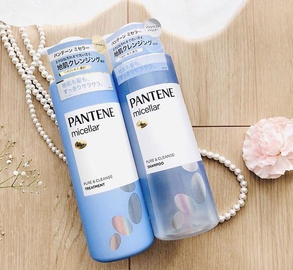 PANTENE(パンテーン) ミセラー ピュア&クレンズ シャンプー&トリートメントを使ったもややいさんのクチコミ画像1