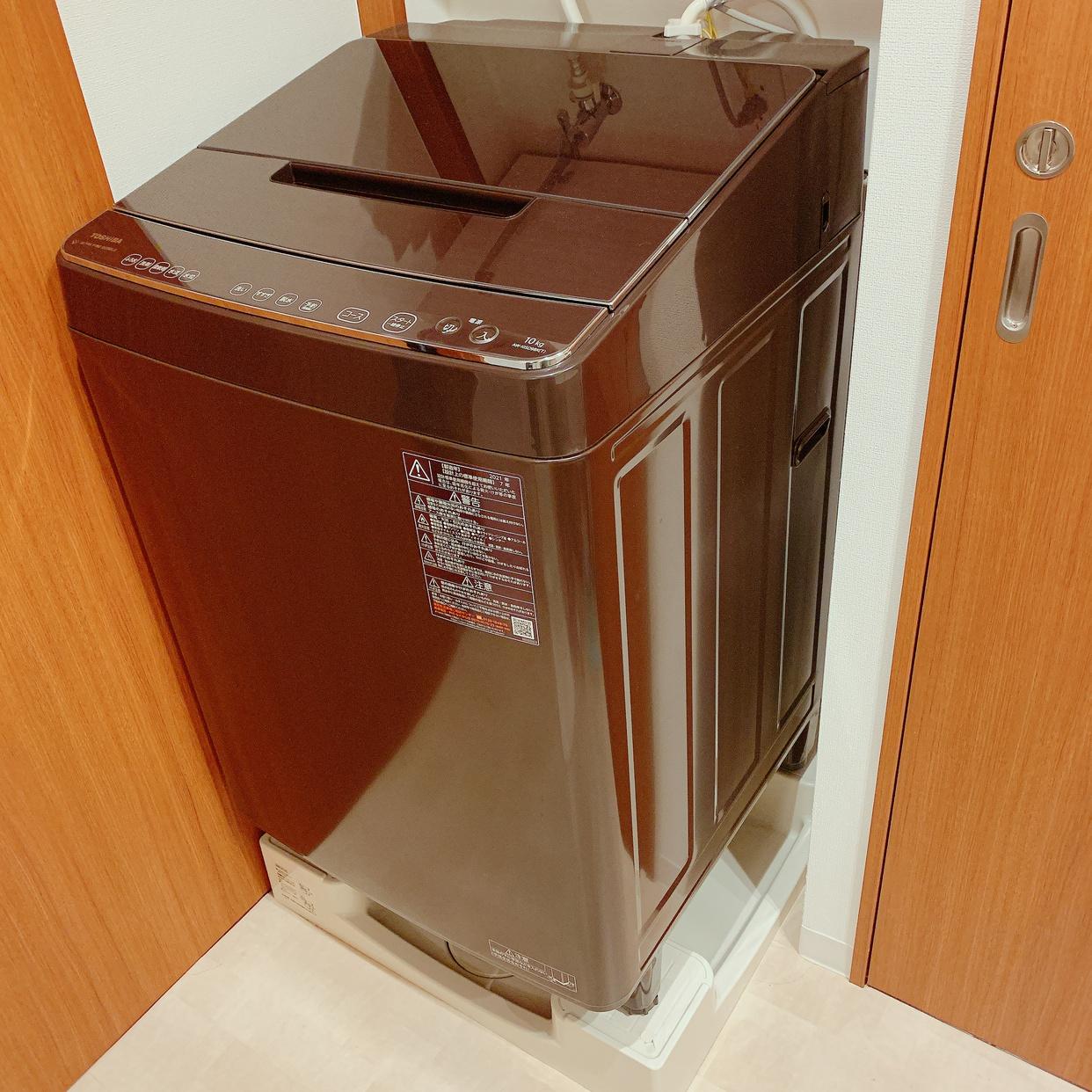 東芝(TOSHIBA)ザブーン 全自動洗濯機(DDインバーター)  AW-10SD9を使ったなすらさんのクチコミ画像1