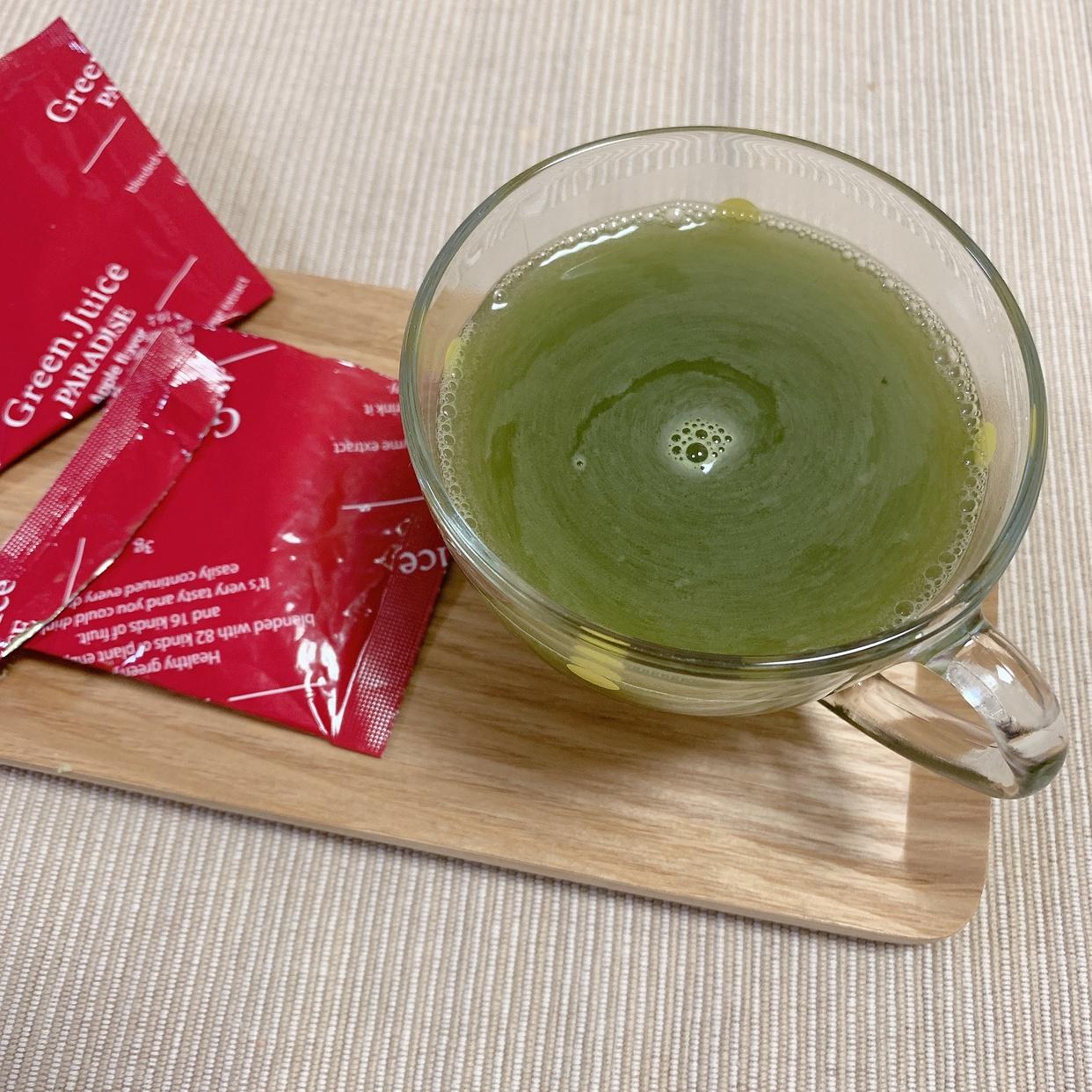 JAPANGALS(ジャパンギャルズ)グリーンジュース パラダイスを使った⸝⸝⸝⸝ 𝑒𝑘𝑎さんのクチコミ画像1
