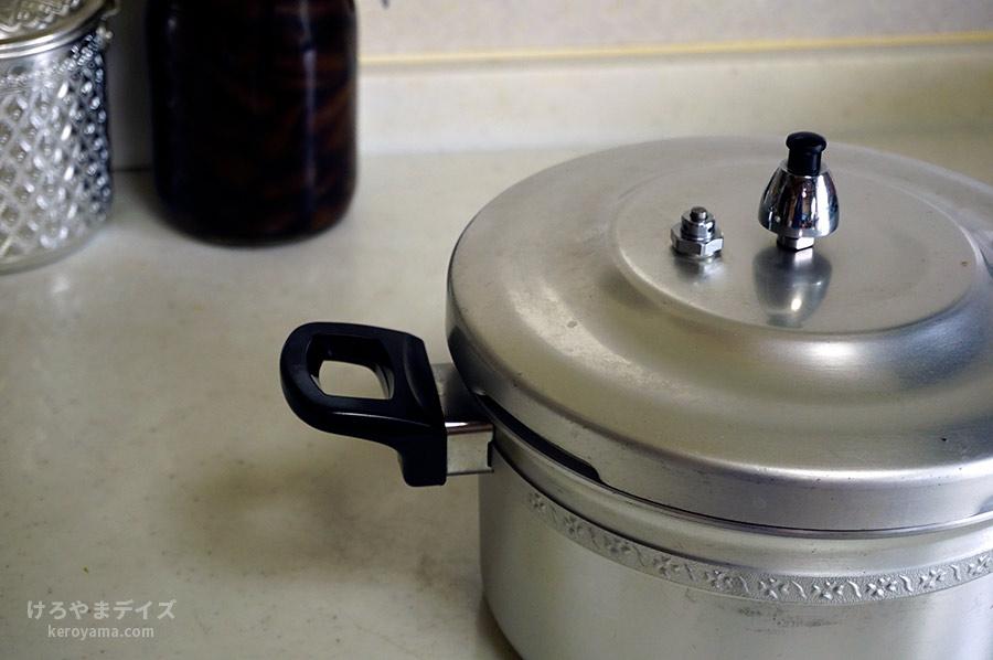 北陸アルミニウム(ホクリクアルミニウム)リブロン圧力鍋を使ったけろやまさんのクチコミ画像3
