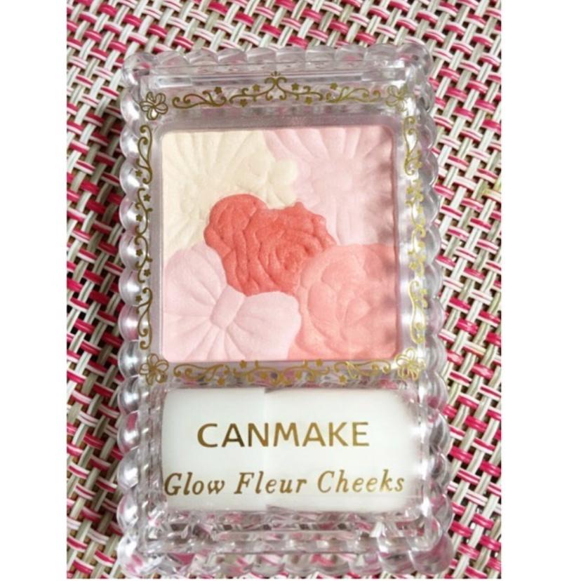 CANMAKE(キャンメイク)グロウフルールチークスを使った 渡邊 朋恵さんのクチコミ画像