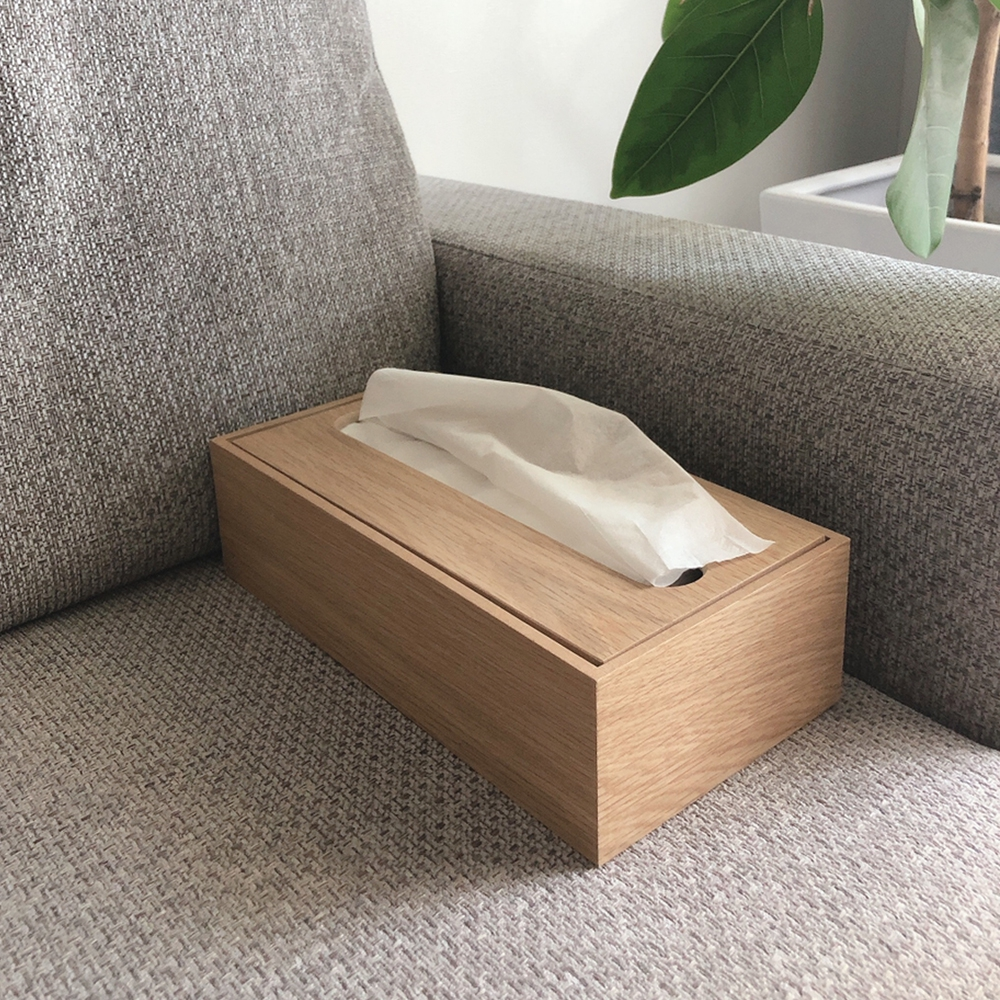 無印良品(MUJI) 木製ティシューボックスを使ったcatalpaさんのクチコミ画像