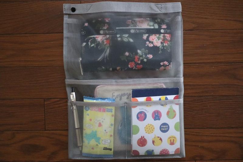 無印良品(MUJI) ナイロンメッシュバッグインバッグ A4サイズ用 タテ型の良い点・メリットに関するうにぽんさんの口コミ画像3