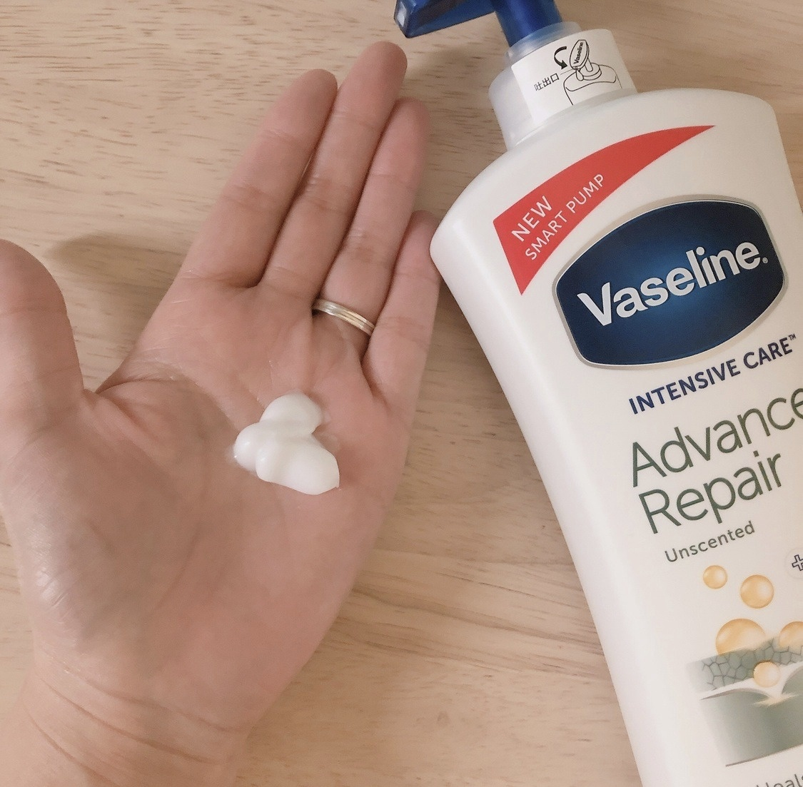 Vaseline(ヴァセリン)アドバンスドリペア ボディローションを使ったみーさん¨̮⸝⋆さんのクチコミ画像2