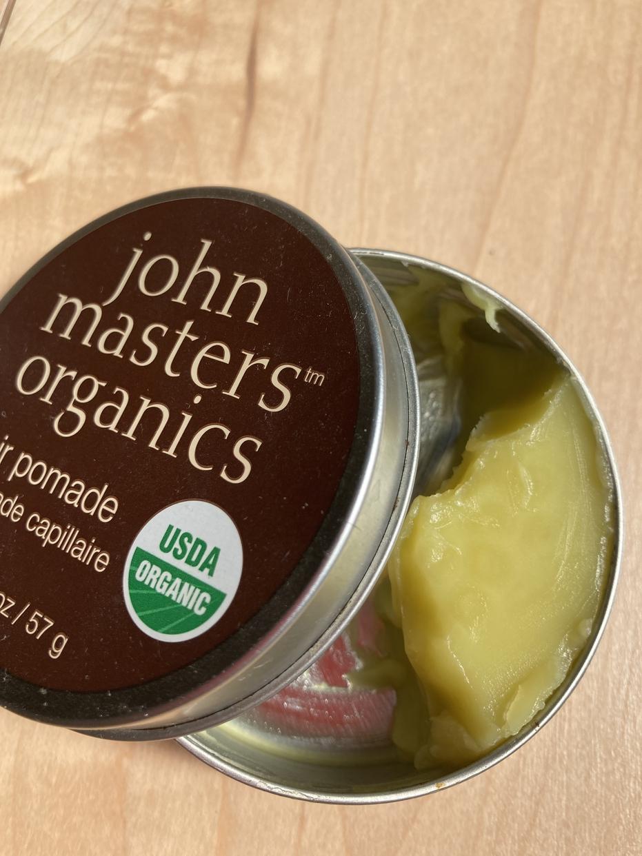 john masters organics(ジョンマスターオーガニック)ヘアワックスを使ったよねさんのクチコミ画像2