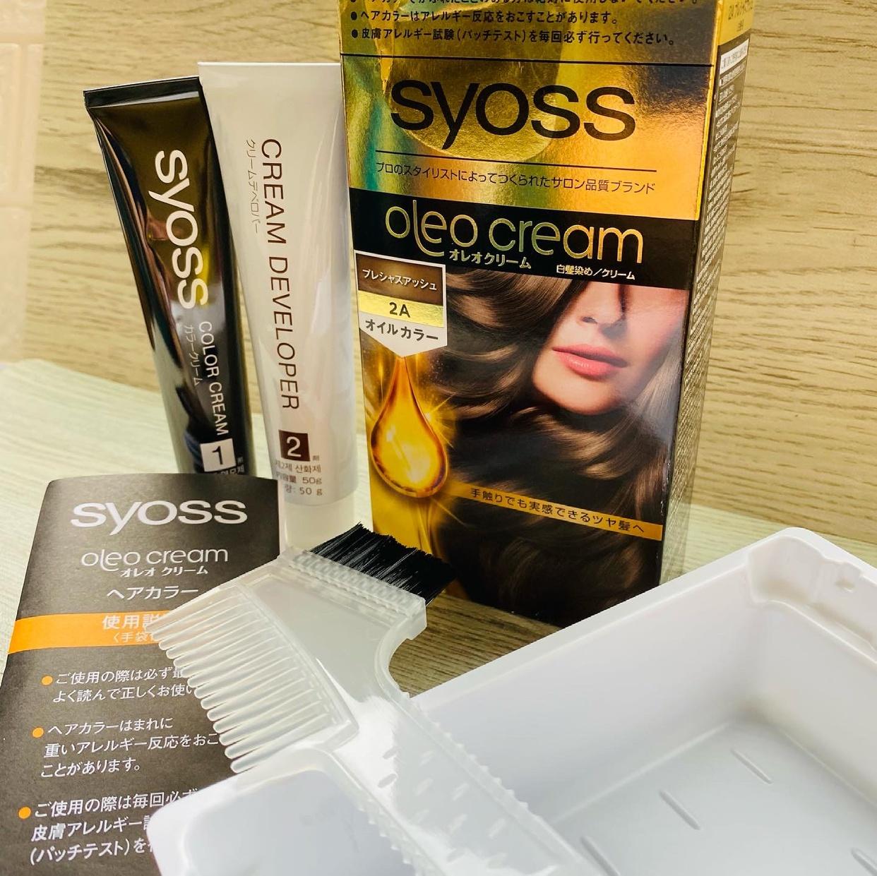 syoss(サイオス)オレオクリームを使ったマイピコブーさんのクチコミ画像2
