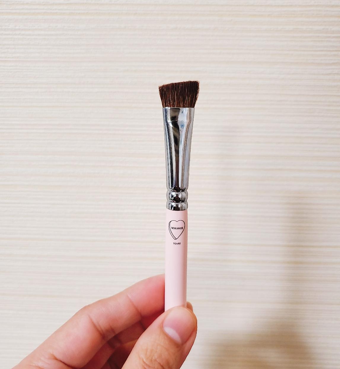 WHOMEE(フーミー) アイブロウブラシ 熊野筆を使ったthihiさんのクチコミ画像1