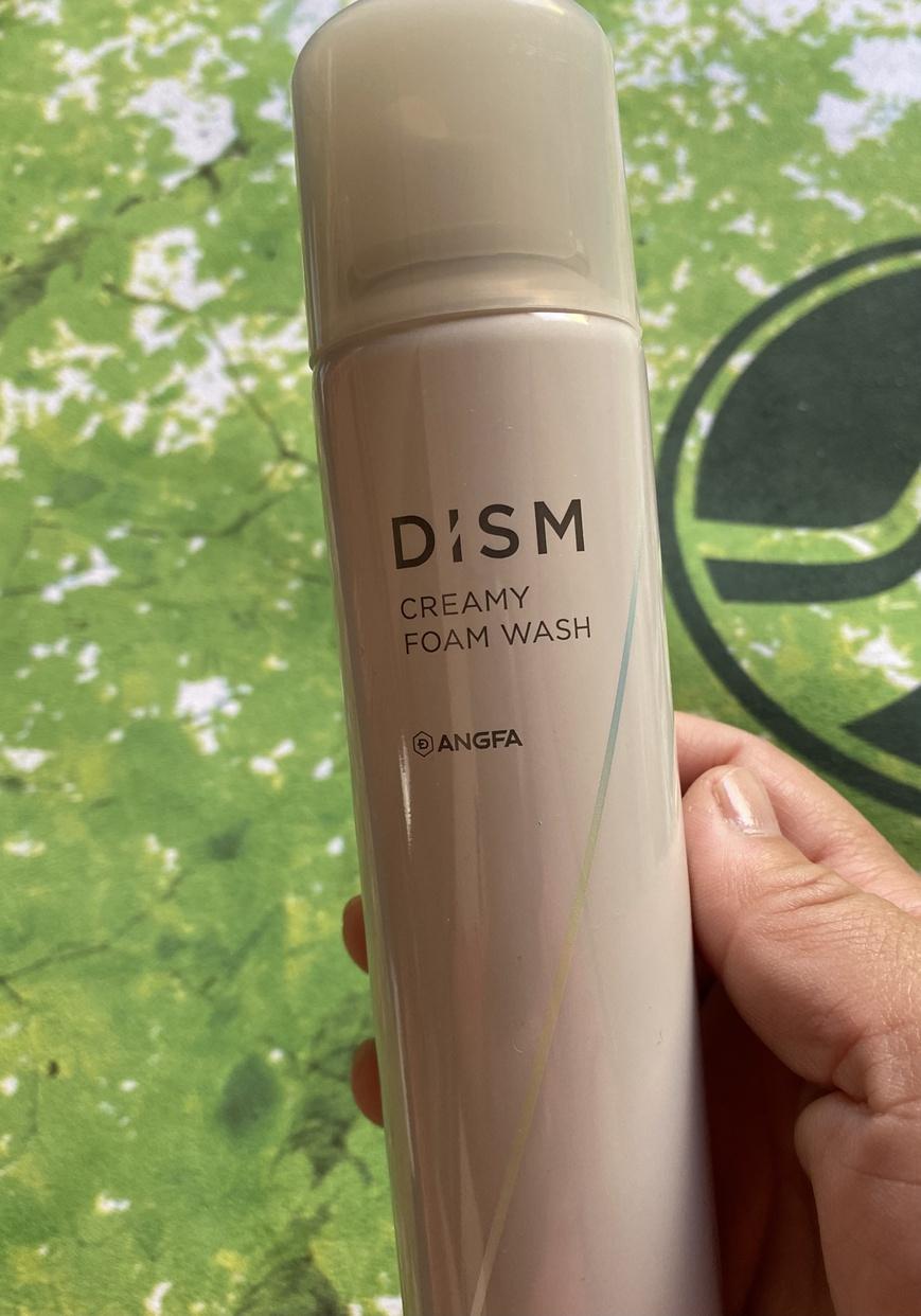 DISM(ディズム) クリーミーフォームウォッシュを使ったマイピコブーさんのクチコミ画像