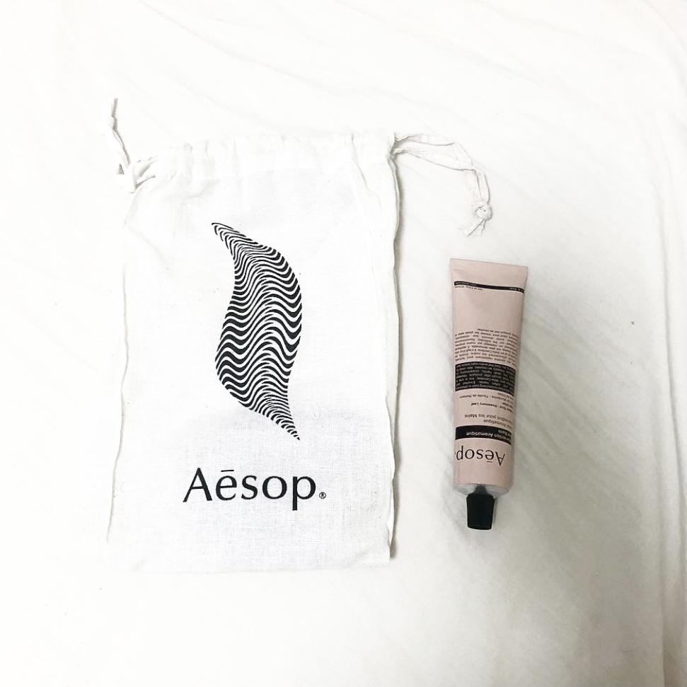 Aesop(イソップ) レスレクション ハンドバームを使ったrinaさんのクチコミ画像