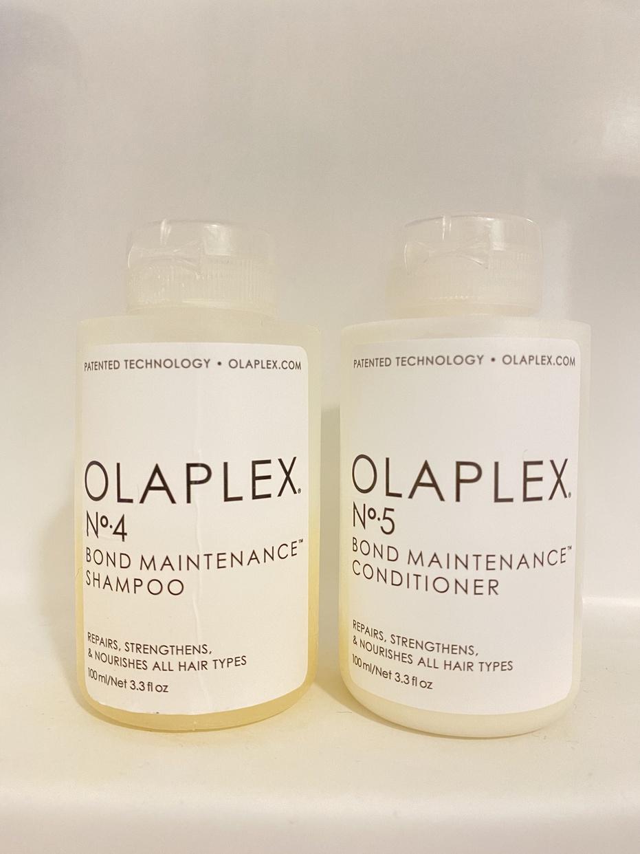 OLAPLEX(オラプレックス) No. 4 ボンド メンテナンス シャンプー& No. 5 ボンド メンテナンスコンディショナーを使ったmimiさんのクチコミ画像
