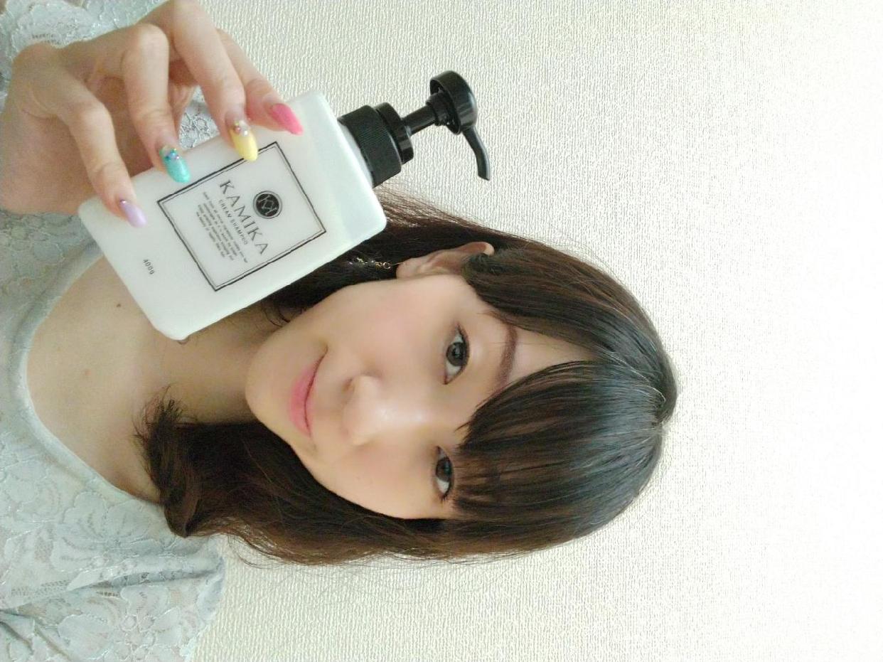 KAMIKA(カミカ)オールインワン黒髪クリームシャンプーを使った             西田 彩花さんのクチコミ画像