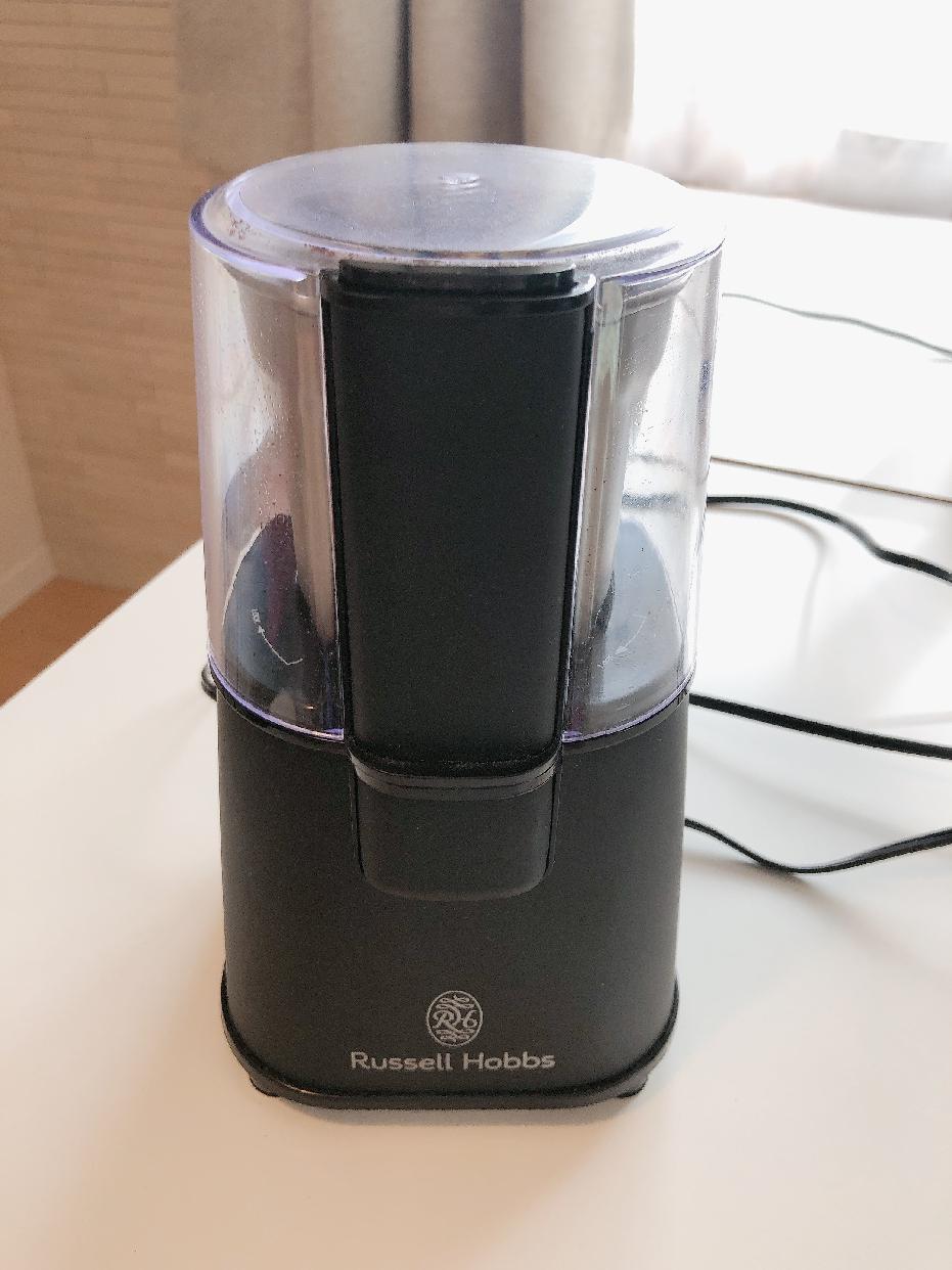 Russell Hobbs(ラッセルホブス)コーヒーグラインダー 7660JPを使ったacu9751さんのクチコミ画像1