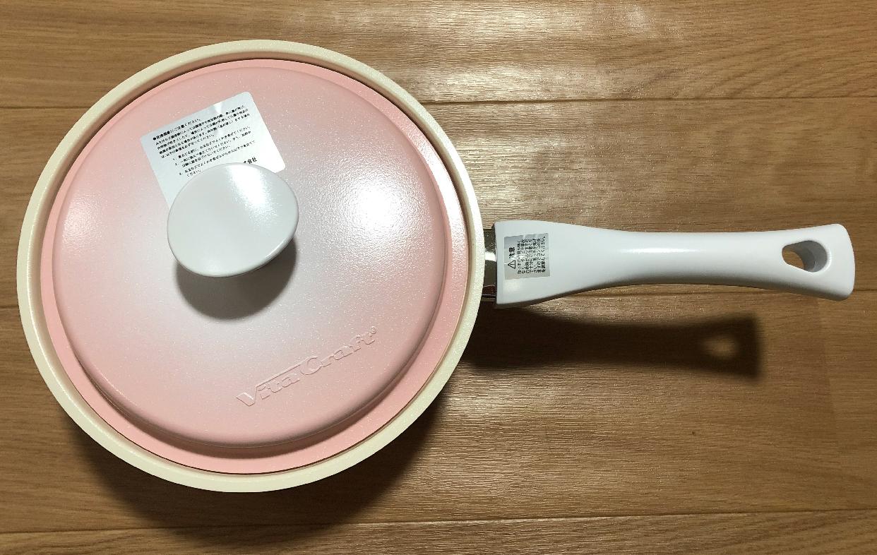 Vita Craft(ビタクラフト)ライト 片手鍋を使ったミズさんのクチコミ画像1
