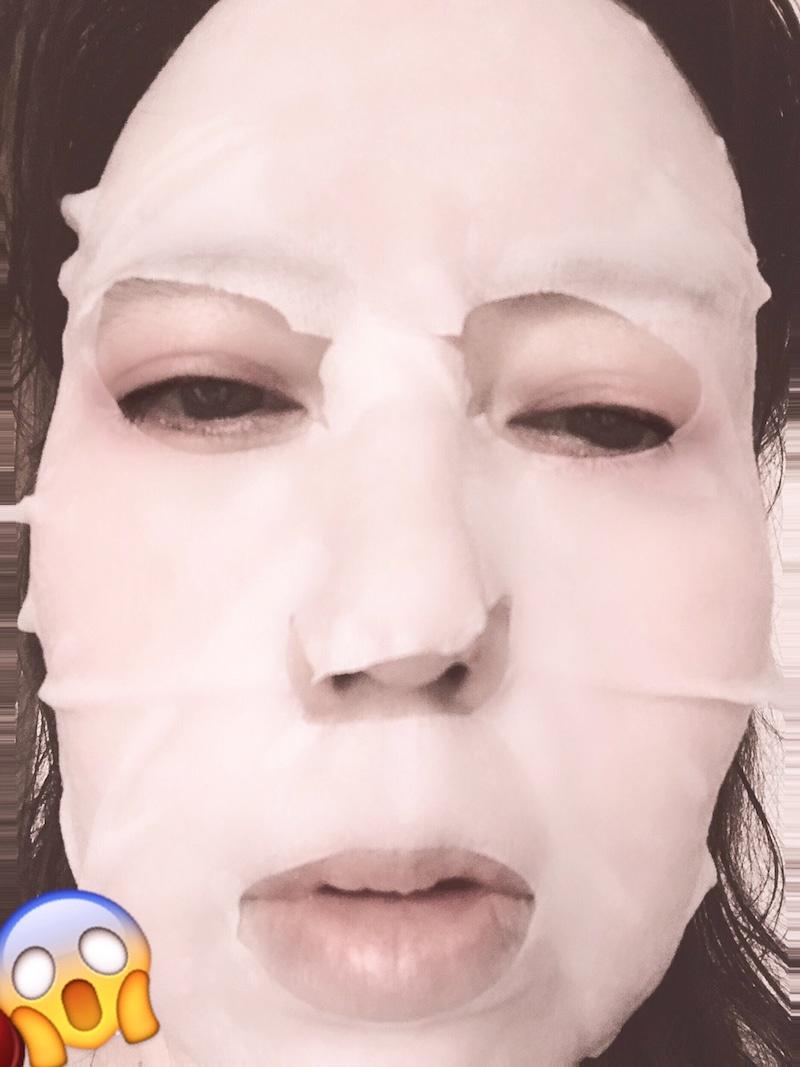 肌美精(HADABISEI) うるーぷ おフロあがりマスクを使ったClaudiaさんのクチコミ画像2