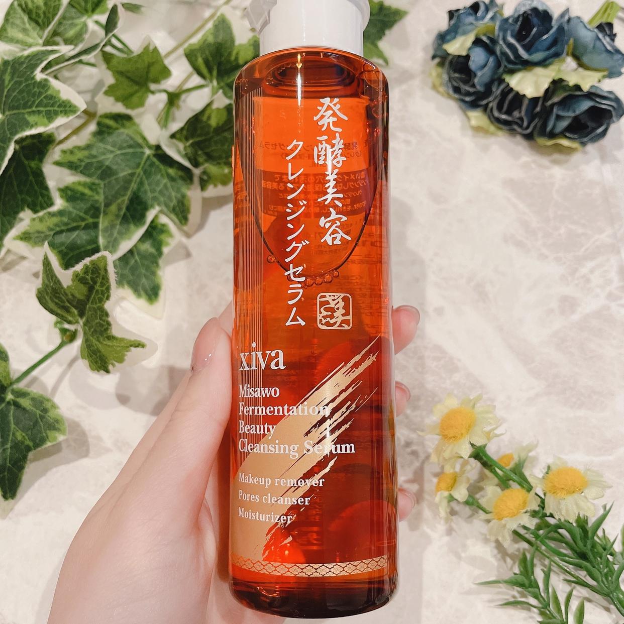 シーヴァ 美さを 発酵美容クレンジングセラムを使ったひとみんさんのクチコミ画像2