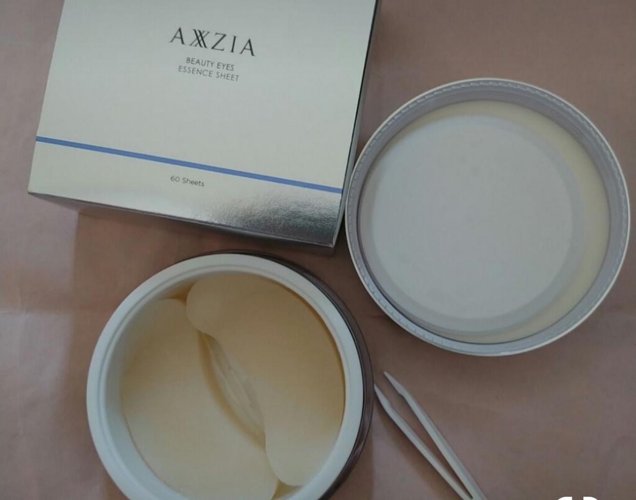AXXZIA(アクシージア)ビューティーアイズ エッセンスシートを使ったたまコングさんのクチコミ画像1