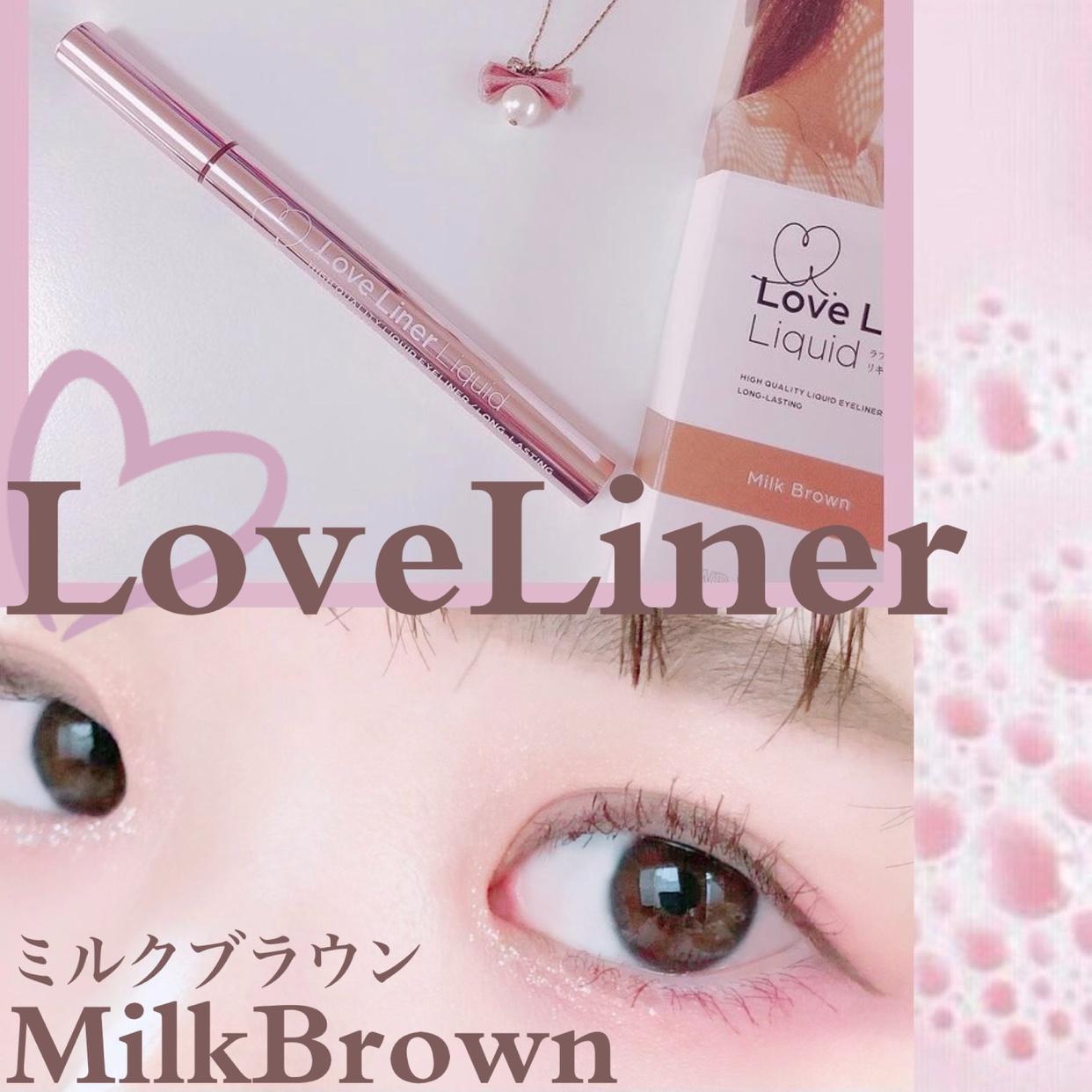 Love Liner(ラブ・ライナー)リキッドアイライナーR3を使ったsatomiさんのクチコミ画像1