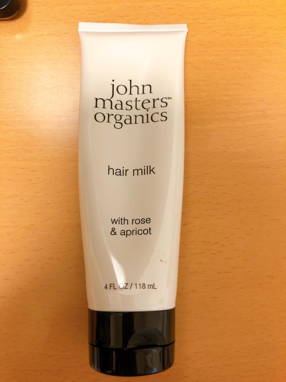 john masters organics(ジョンマスターオーガニック) R&Aヘアミルク N (ローズ&アプリコット)を使ったしろねこさんのクチコミ画像1