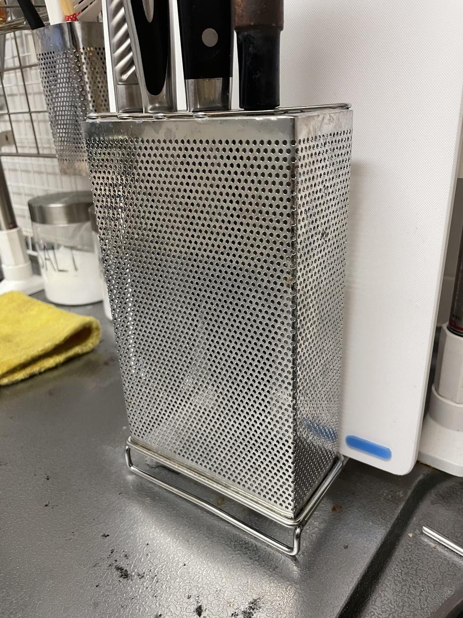 NITORI(ニトリ)包丁まな板スタンドを使ったバイキンマンさんのクチコミ画像1