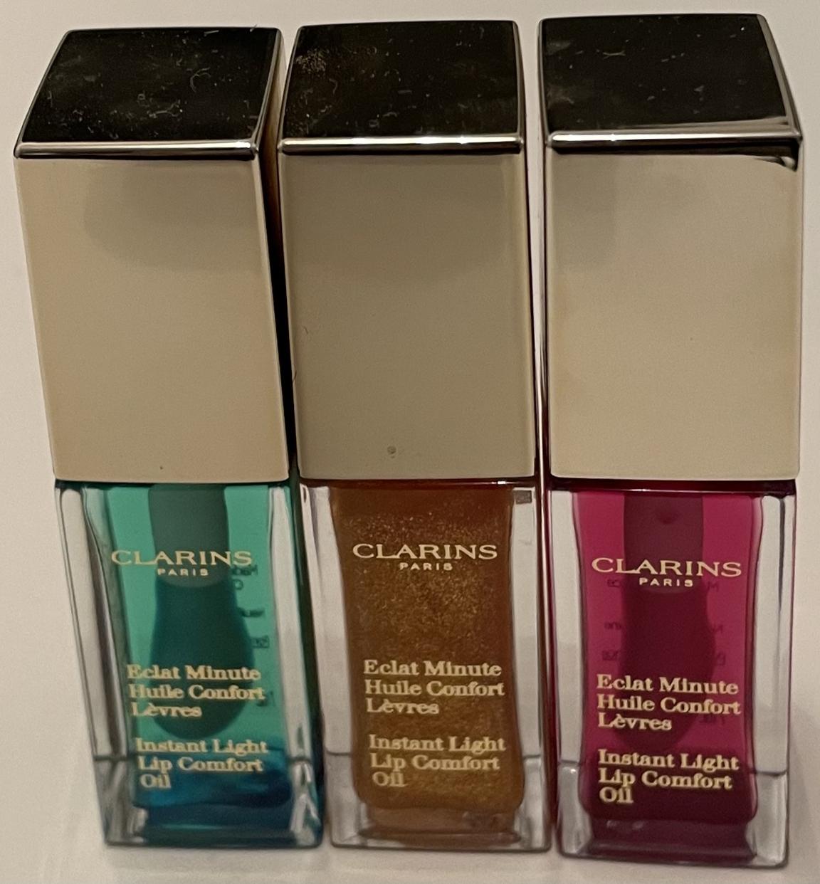 CLARINS(クラランス)コンフォート リップ オイルを使ったPain de Mieさんのクチコミ画像