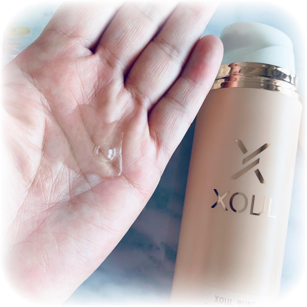 XOUL(ソウル) ピュアフェイスウォッシュジェルを使ったsnowmiさんのクチコミ画像2