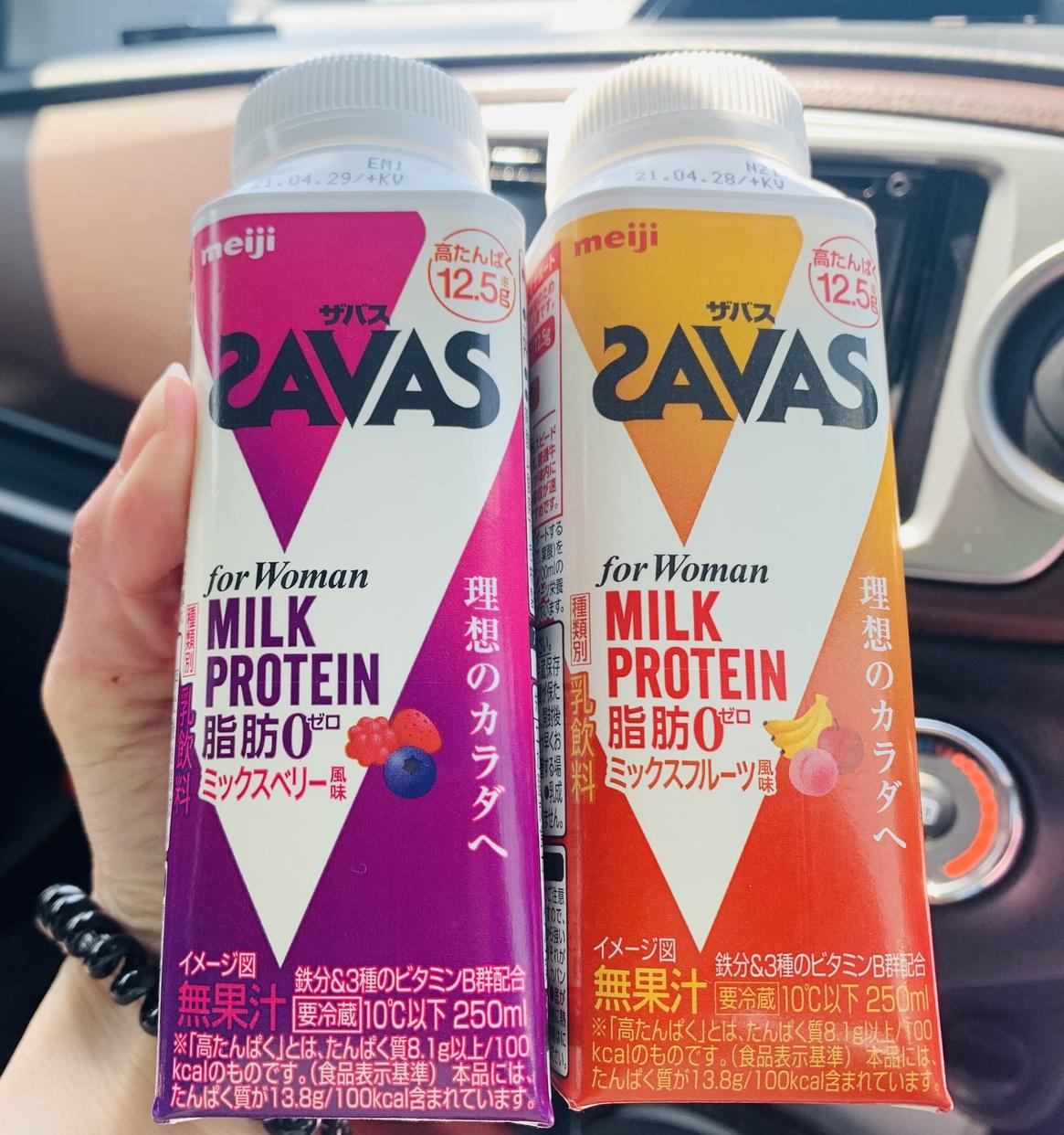 SAVAS(ザバス)ミルクプロテインを使ったMIHOさんのクチコミ画像