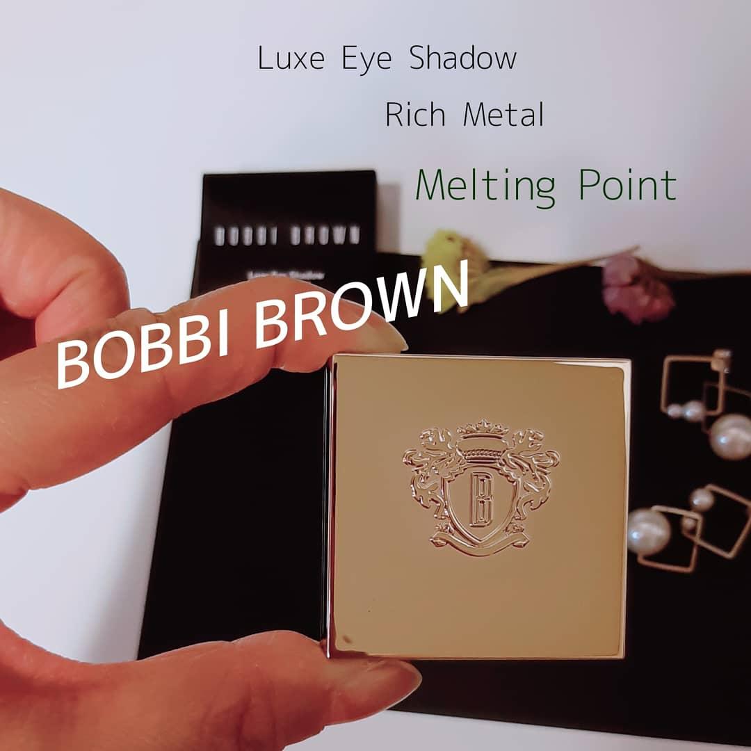 BOBBI BROWN(ボビイ ブラウン) リュクス アイシャドウを使ったみぃさんのクチコミ画像1