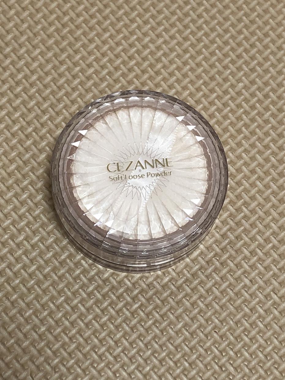 CEZANNE(セザンヌ) うるふわ仕上げパウダーを使ったちゃかいさんのクチコミ画像1