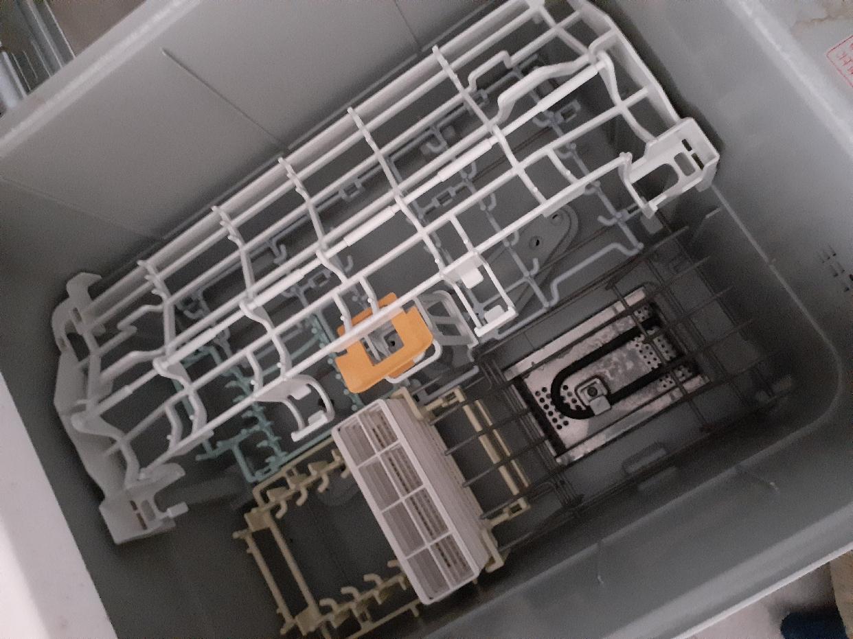 三菱電機(MITSUBISHI ELECTRIC)EW-45R2S (ビルトイン食器洗い乾燥機)を使ったhoaさんのクチコミ画像2