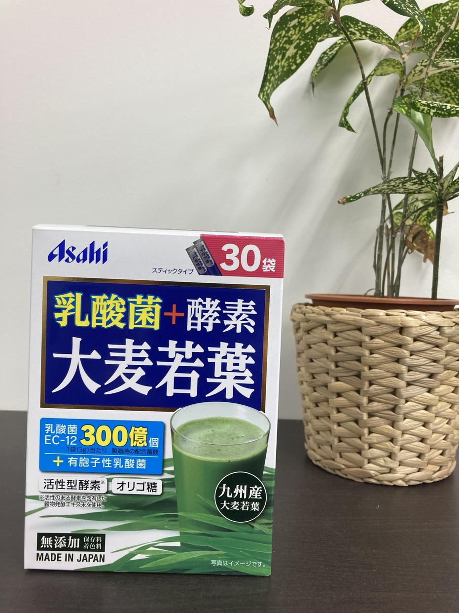 Asahi(アサヒグループショクヒン)乳酸菌+酵素 大麦若葉を使ったMinato_nakamuraさんのクチコミ画像1