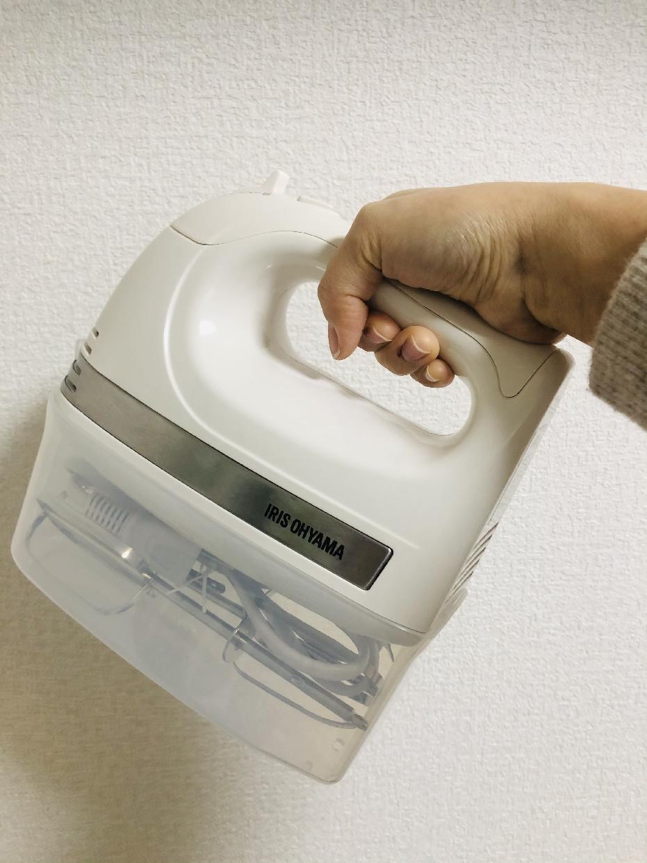 IRIS OHYAMA(アイリスオーヤマ)ハンドミキサー PMK-H01-Wを使ったtakemayuさんのクチコミ画像1