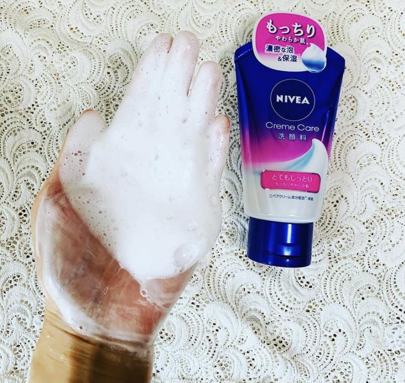 NIVEA(ニベア) クリームケア 洗顔料 とてもしっとりを使ったれなさんのクチコミ画像2