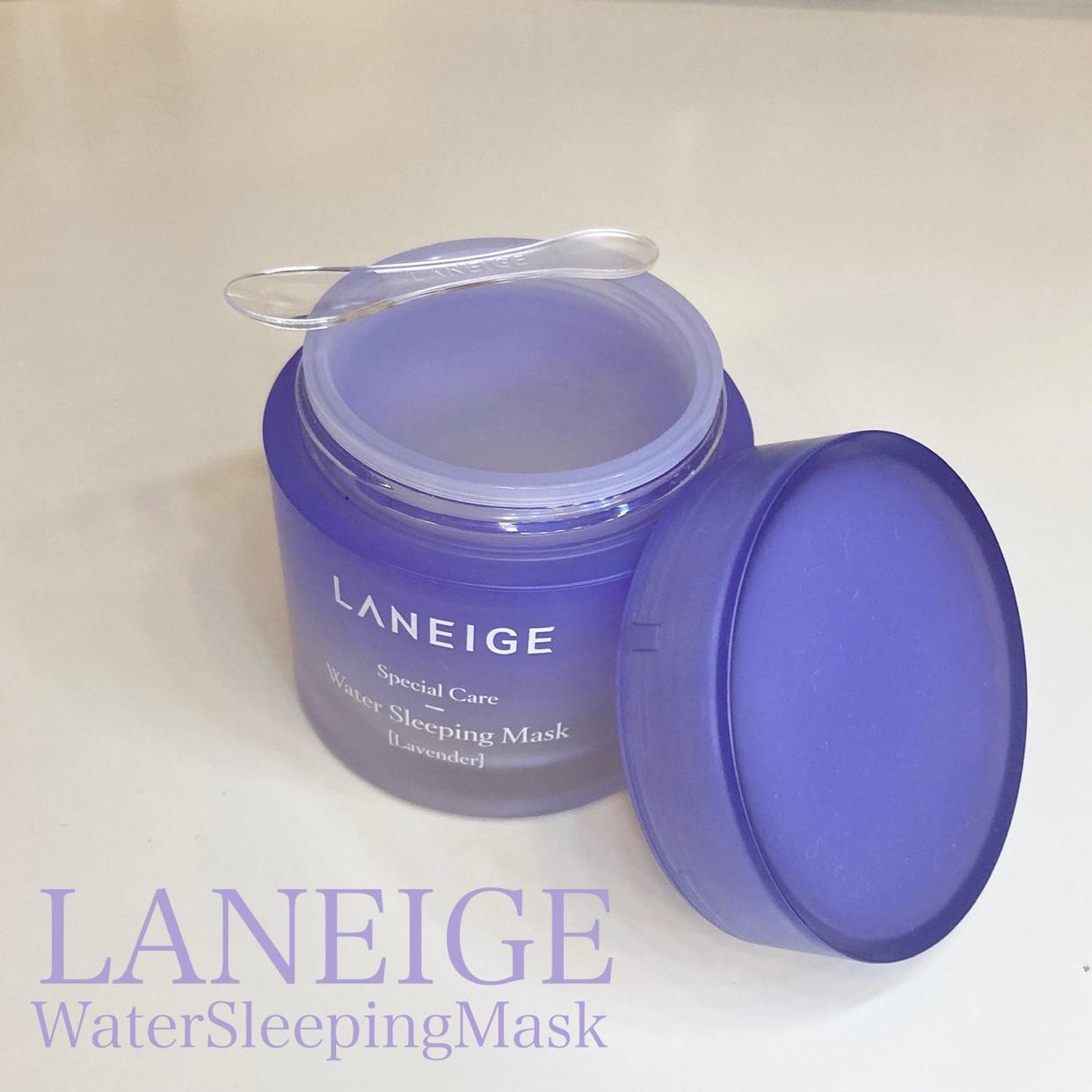 LANEIGE(ラネージュ) ウォーター スリーピング マスクを使ったあやさんのクチコミ画像1