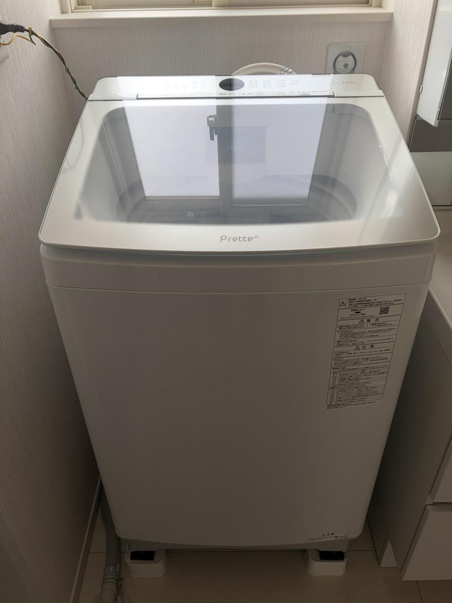 AQUA(アクア)Prette 全自動洗濯機 AQW-GVX140Jを使ったはーちゃんさんのクチコミ画像1