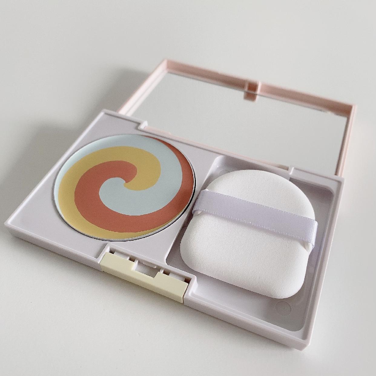 diem couleur(ディエムクルール)カラーブレンドコンシーリングパウダーを使ったスピリチュアルカウンセラーあいさんのクチコミ画像2