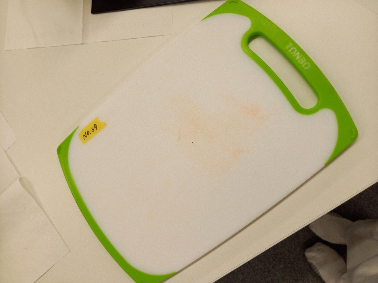 TONBO(トンボ)耐熱 抗菌 まな板 ラバー付きを使ったkazuhiko24さんのクチコミ画像1