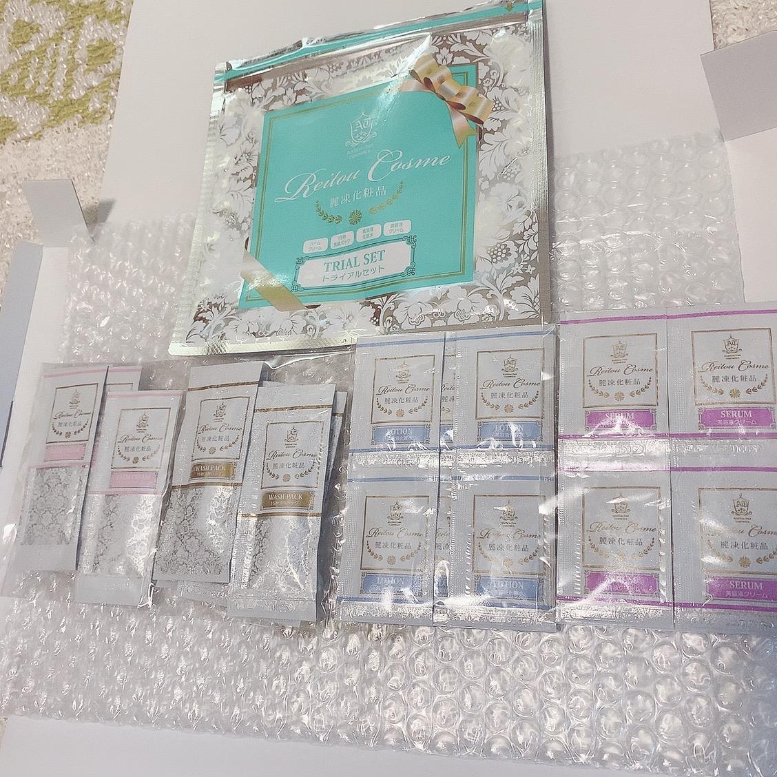 麗凍化粧品(Reitou Cosme) トライアルセットに関するりりーさんの口コミ画像1